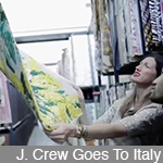 "J. Crew Goes To Italy ""About A Print"""